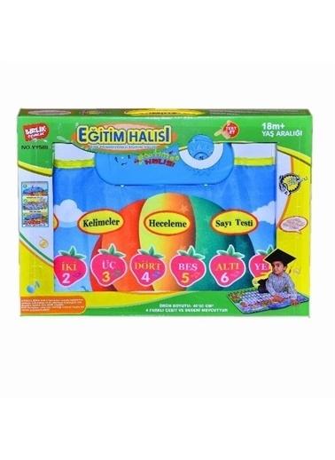 Birlik Oyuncak Birlik Oyuncak Hecelemeli Ve Sayı Saymalı Çocuk Eğitim Oyun Halısı Renkli